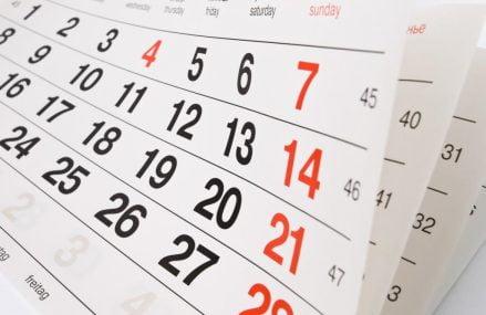 Calendário de Feriados 2017 em São Paulo